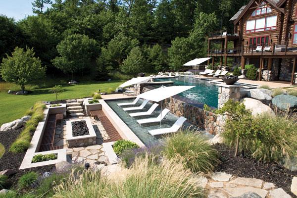 Swimming pool design awards the poolstore blog for Pool design hillside